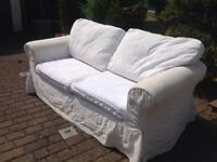 Two 2/3 seater Ikea sofas in good condition