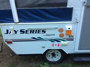 FOR SALE  8 ft. 2006 ,Hard top tent trailer ! Jayco Series 806!