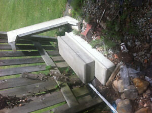 precast steps 3ft and 4 ft $ 15 each