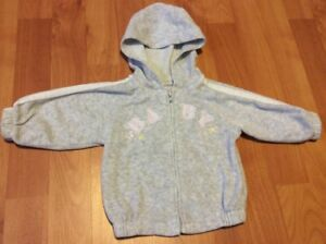 Baby Girl Coats & Sweaters, Size 6-9 months