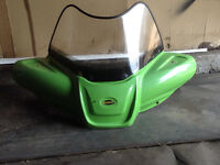 Arctic cat ATV windshield