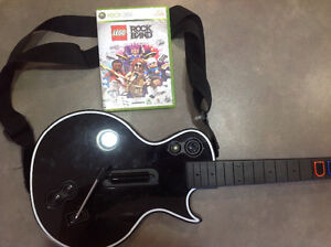 Rock Band with Guitar - XBox 360