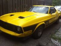1973 Mustang Coupe with 351 Cleveland motor
