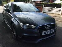 Audi A3 1.4 TFSI 150ps saloon S Line leather Sat nav BUY FROM £75 PER WEEK
