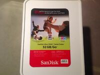 New Unopened The SanDisk Ultra 32GB SDHC memory card