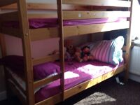 Bunk bed only 3 years old Hardly used very nice