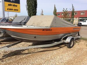 Harbercraft Kingfisher Jet Boat, 200 Sport Jet, No Major Dents!!