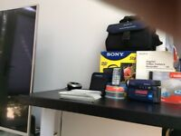 Sony handycam digital disc camcorder