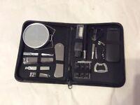 Gentleman's travel kit.