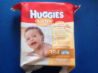 WIPES for baby , 8 package, new, less then 50% price