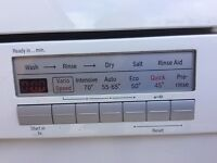 Bosch full size dishwasher 60cm wide used but in Excellent condition £75 ono