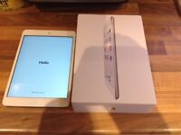 iPad mini 2 32gb cellular model A1490 box and charger excellent condition