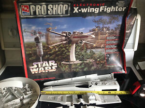 Large star wars electronic model