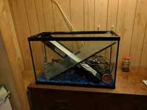 30 gallon aquarium comes with everything including filter