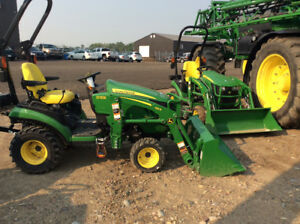 JOHN DEERE 1025R& LOADER-DISCOUNTS $5,518-ONLY ONE AT THIS PRICE