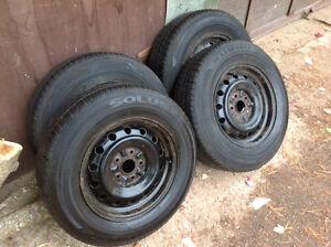 P205 70R15 set of 4 tires & rims