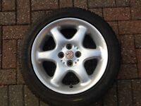 MG Alloy and Tyre