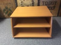 TV Stand Side Table with shelves