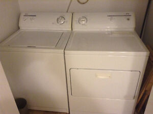 Washer and dryer, still work very well
