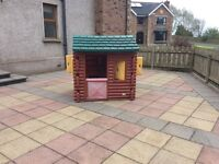 LITTLE TIKES PLAYHOUSE---AS NEW,BARGAIN £ 75.00