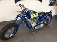 Custom New Build Revtech 1450cc Bobber Not Harley Davidson Chopper