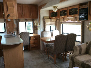 Beautiful 5th Wheel on leased lot at Candle Lake