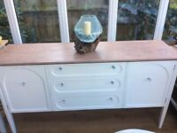 Shabby chic G Plan sideboard