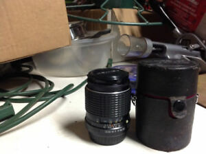 Smc Pentax 3.5/135 and lens case