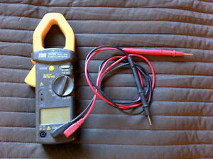 pince ampèremétrique TES 3079K HVAC TRMS power clamp meter