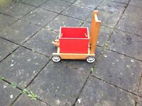 Childs Vintage Wooden Truck Walker