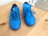 Adidas football boots size UK3