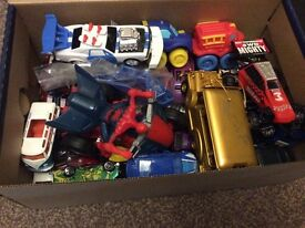 Various die cast cars, Hot Wheels, Corgi and others -njo