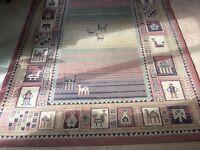 Carpet rug - unusual and elegant
