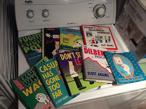 GIANT DILBERT LOT 9 books price to sell!!! West Island Greater Montréal image 1
