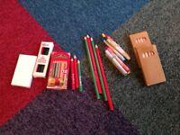 FREE bundle of colouring crayons and wax crayons