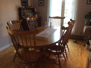 Maple Dining Room Set For Sale