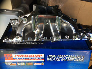 NEW Ford SB 260 289 302W Windsor Intake Manifold Chrome/POLISHED