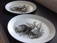 Johnson Brothers pheasants platter