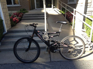 FULL SUSPENSION RALEIGH BIKE QUICK SALE