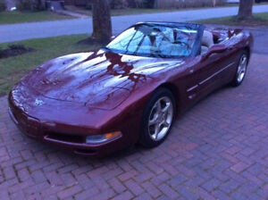 2003 GORGEOUS CANADIAN CORVETTE CONVERTIBLE
