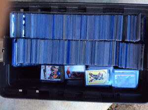 Large Stanley Tool Box of near mint condition Hockey Cards$$$