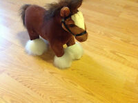 Plush Clydesdale Horse