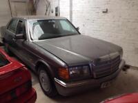 Mercedes-Benz 300 se 1988/F reg please call for full info 01435 810010