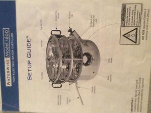Distilleur d'eau non-électrique à vendre