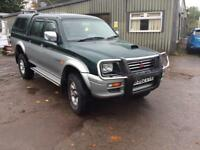 Mitsubishi L200 double cab tidy truck for its age good value for money