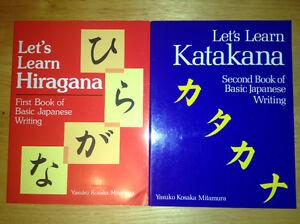 Learn Japanese - Hiragana & Katakana