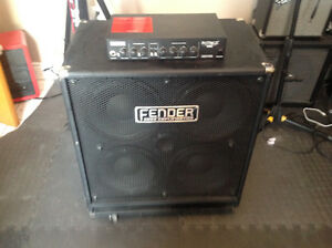Fender Bass Head and Cabinet