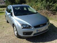 FORD FOCUS 1.6 2007 ZETEC 65,000 MILES WITH FULL HISTORY 2 OWNERS NEW MOT