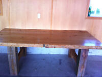 Country kitchen style table