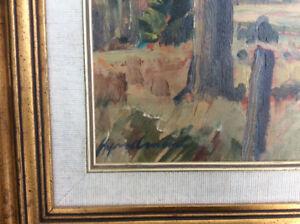 Original oil on board painting by Robert Stewart Hyndman